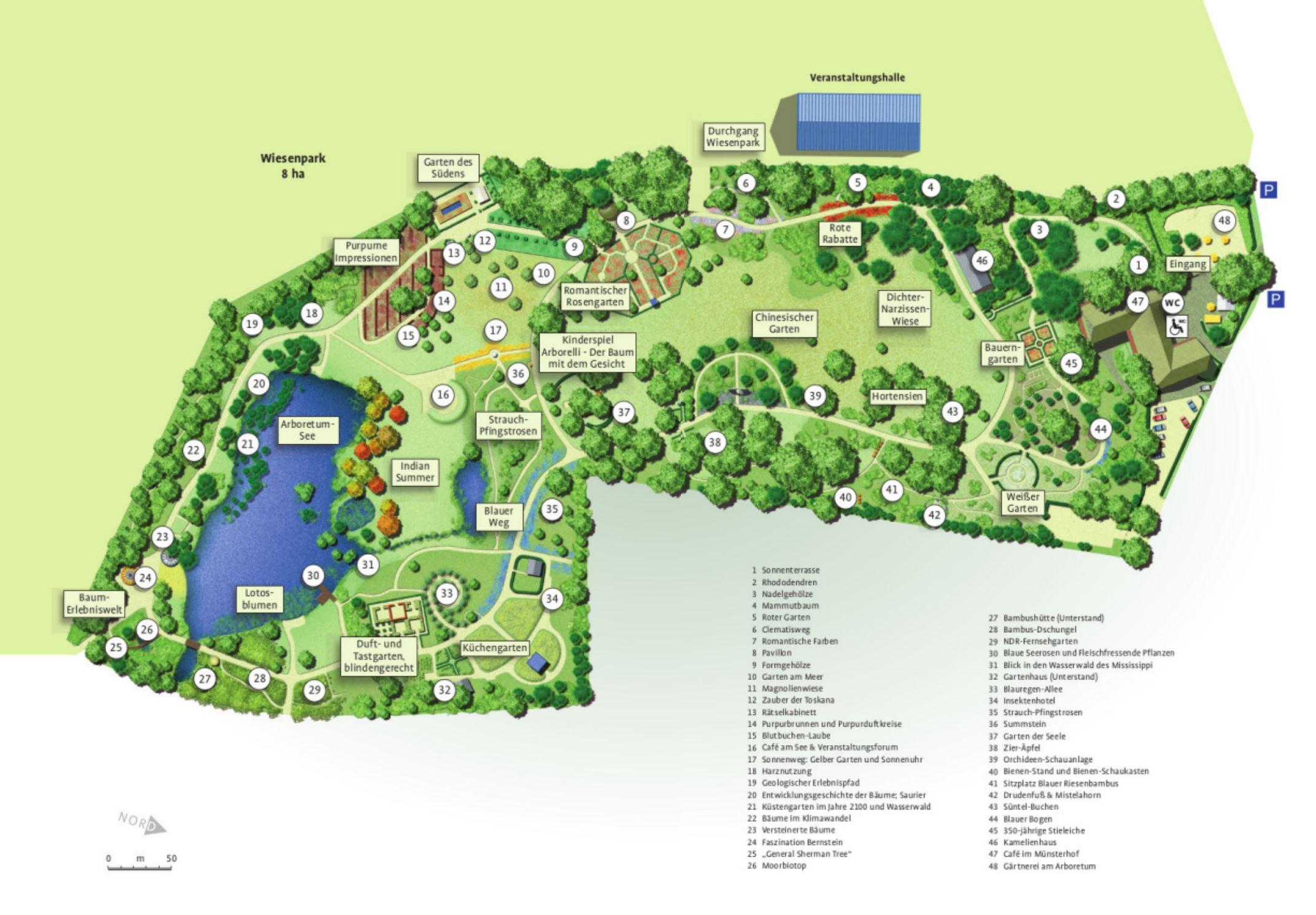 Gartenplan